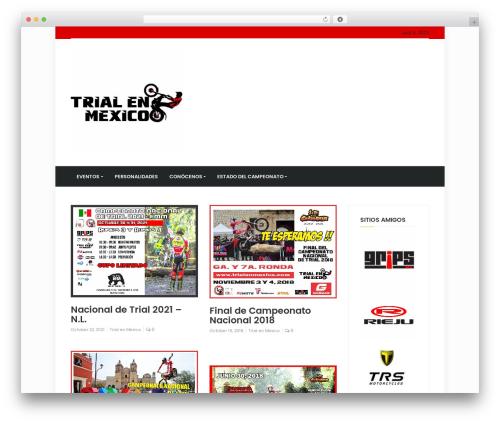 timagazine newspaper WordPress theme - trialenmexico.com