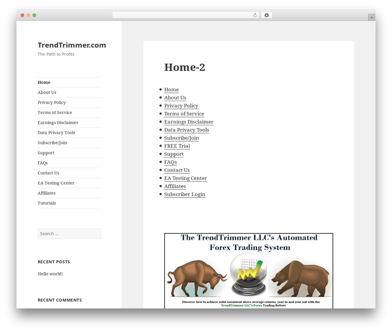 Twenty Fifteen WordPress theme free download - trendtrimmer.com