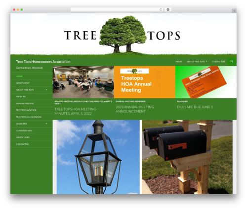 Twenty fourteen child theme WordPress - treetops-in-germantown.com