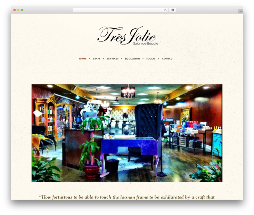 Twenty Thirteen free website theme - tresjoliesalonny.com