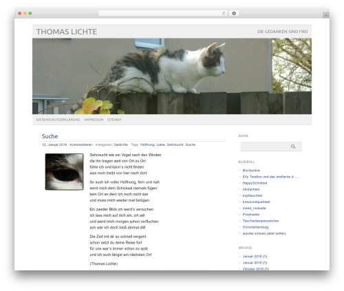 WordPress theme picolight - thomas-lichte.de