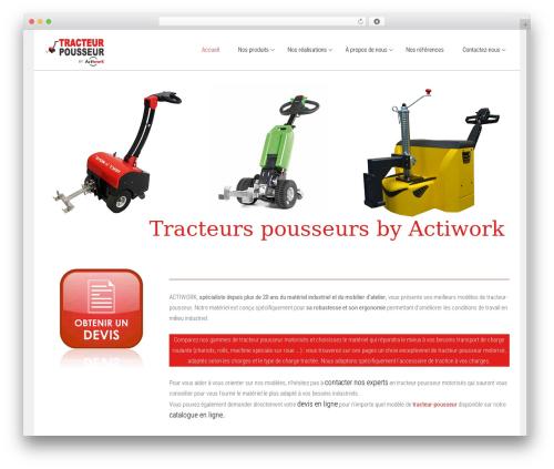 WordPress theme Satellite7 - tracteur-pousseur.fr