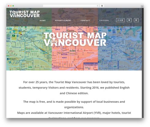 Free WordPress Bogo plugin - touristmapvancouver.com