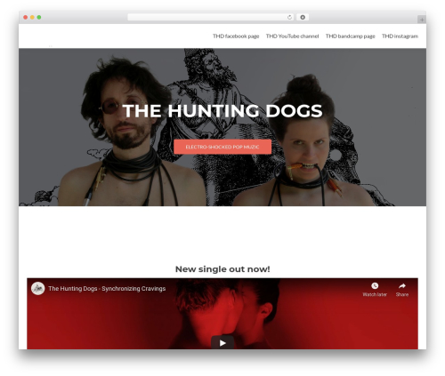 Zerif Lite free website theme - thdmusic.com