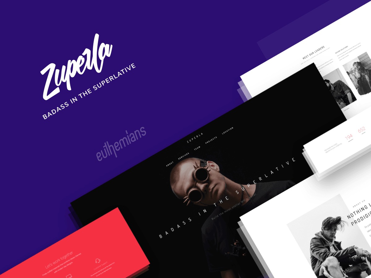 Zuperla WP theme