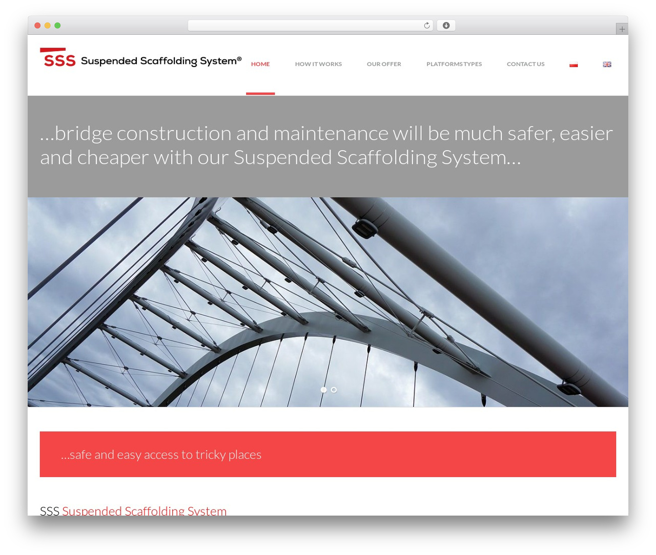 Avanter top WordPress theme - sss-scaffolding.com