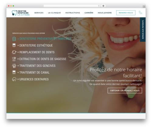 PloggMedia premium WordPress theme - centredentairelaprairie.com