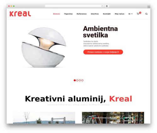 WordPress theme Polestar - kreal.si