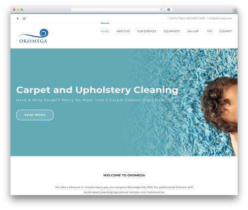 Avada WordPress website template - oksimega.com