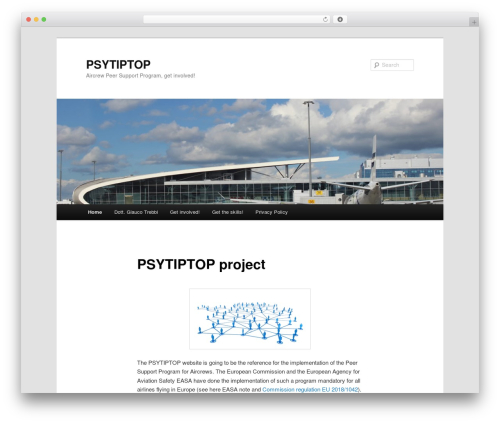 Twenty Eleven free WordPress theme - psytiptop.com