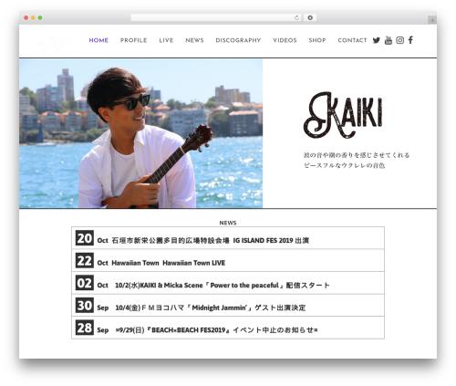 Best WordPress template Bridge - kaikiofficial.com