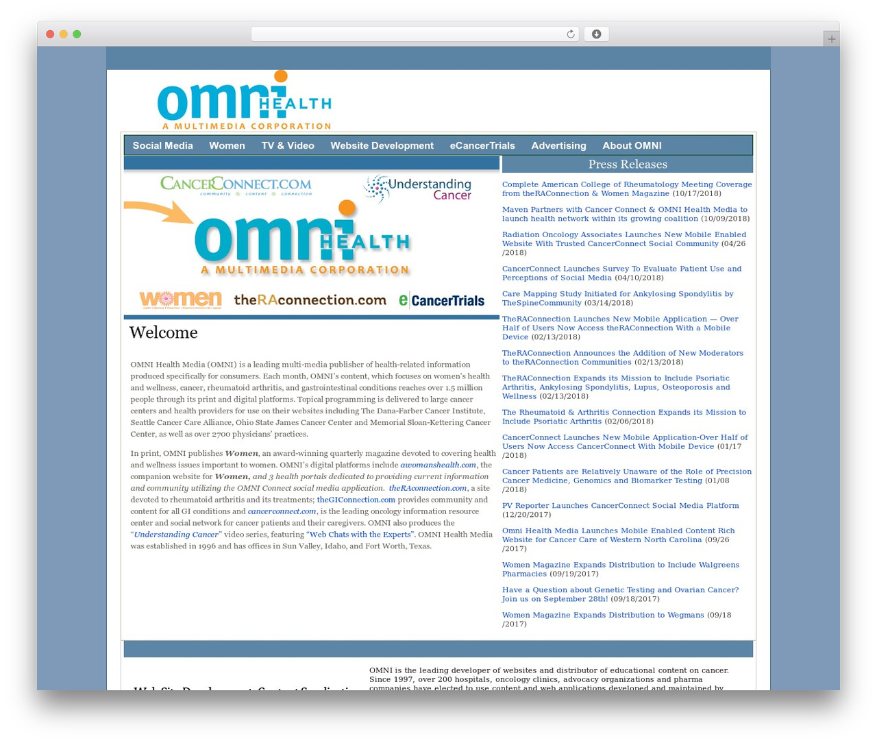 CC Demo Master WordPress template - omnihealthmedia.com
