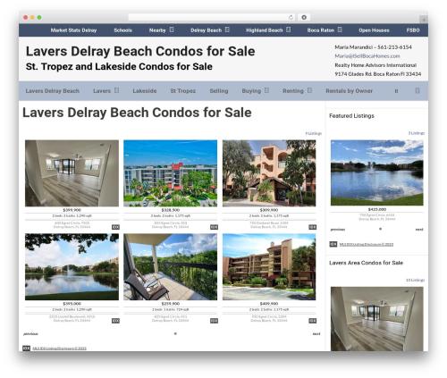 GeneratePress template WordPress - laversresortracquetclub.com