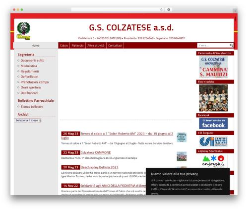 PASW 2015 WordPress template - colzatese.com