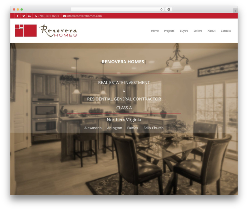 Pointfinder theme WordPress - renoverahomes.com