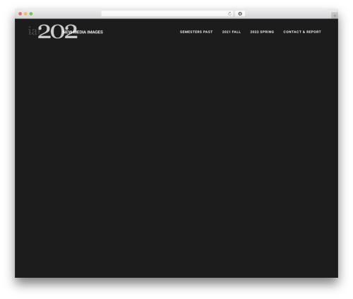 Template WordPress Bridge - iat202.com