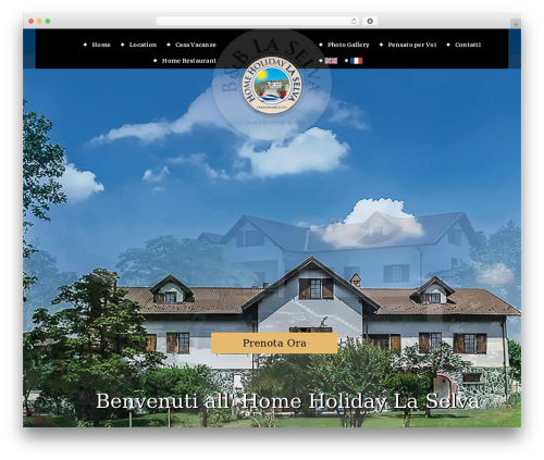 WordPress theme Veda - homeholidaylaselva.com