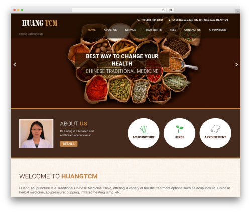 WP theme Coffee Pro - huangtcm.com