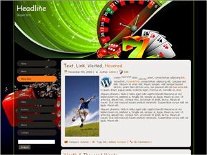 Casino Games WordPress gaming theme