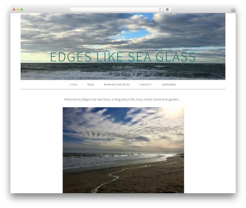 Foodie Pro Theme WordPress theme - edgeslikeseaglass.com