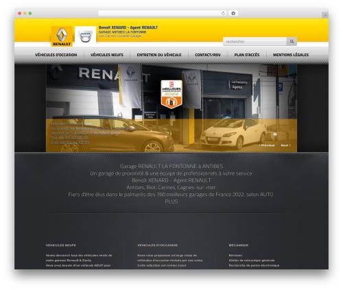 Radial Premium Theme WP template - renault-lafontonne.com