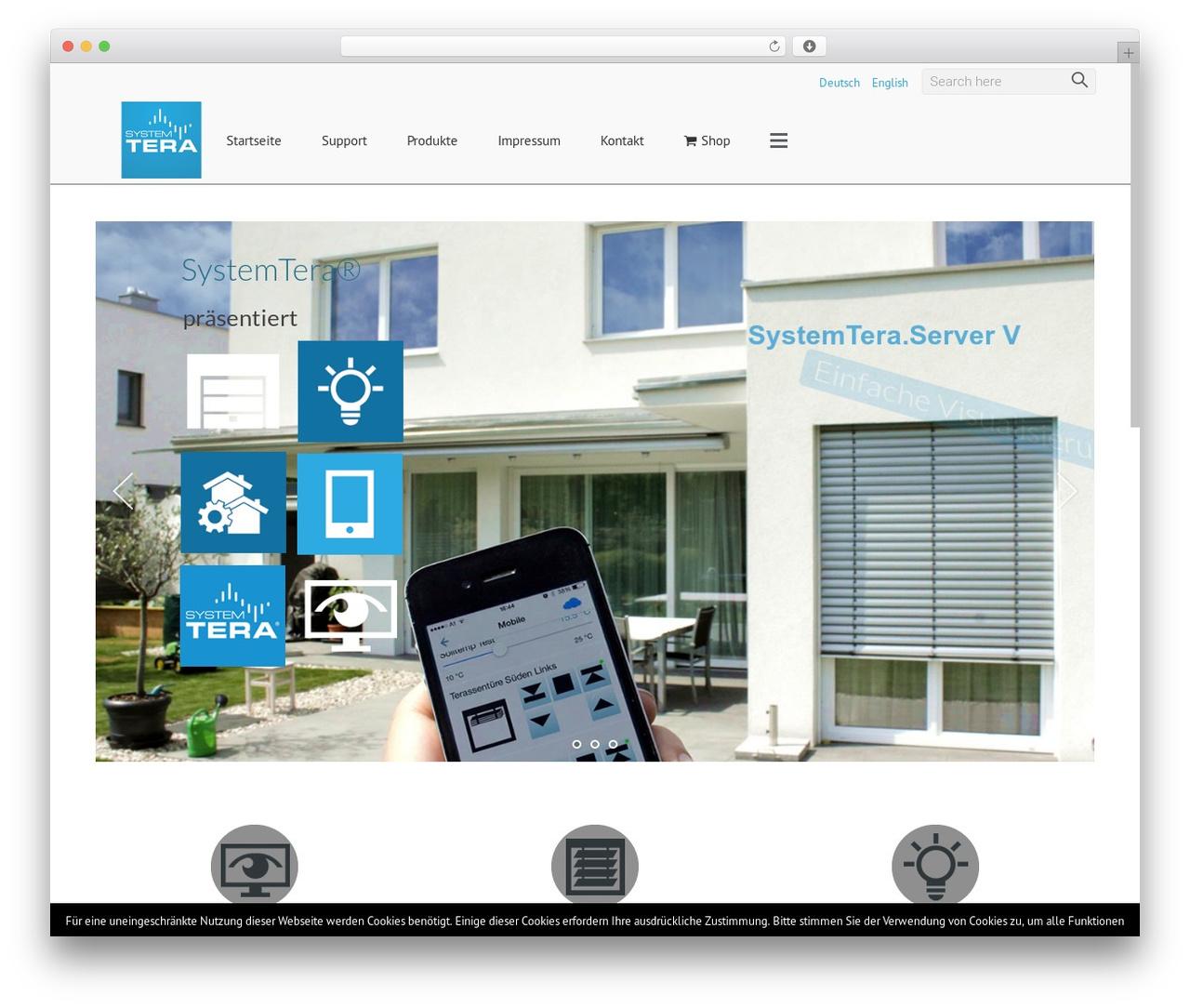 Satellite7 WordPress template - systemtera.com