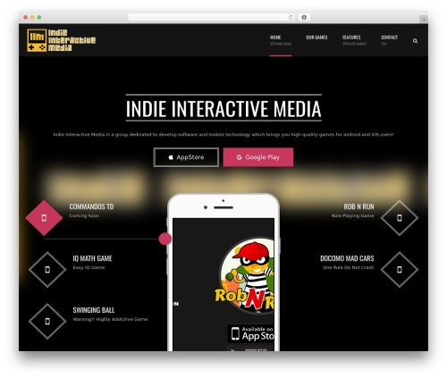 Applay WordPress theme - iimgames.com