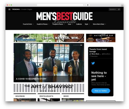 Extra WordPress news template - mensbestguide.com
