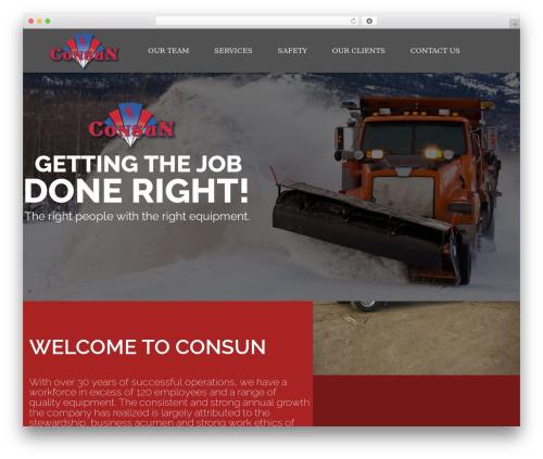 WordPress megamenu-pro plugin - consun.ca