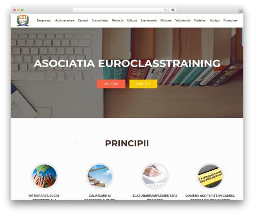 OnePirate WordPress theme free download - ecst.ro