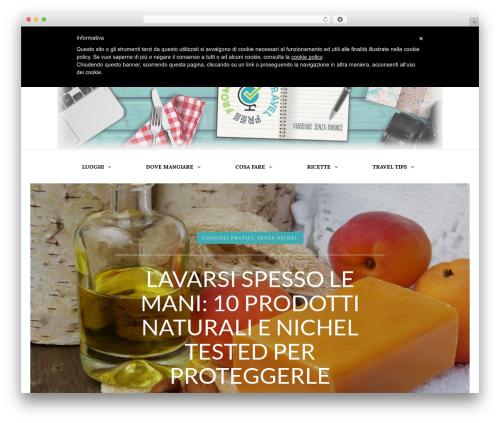 Piemont WordPress theme - travelfreefrom.com