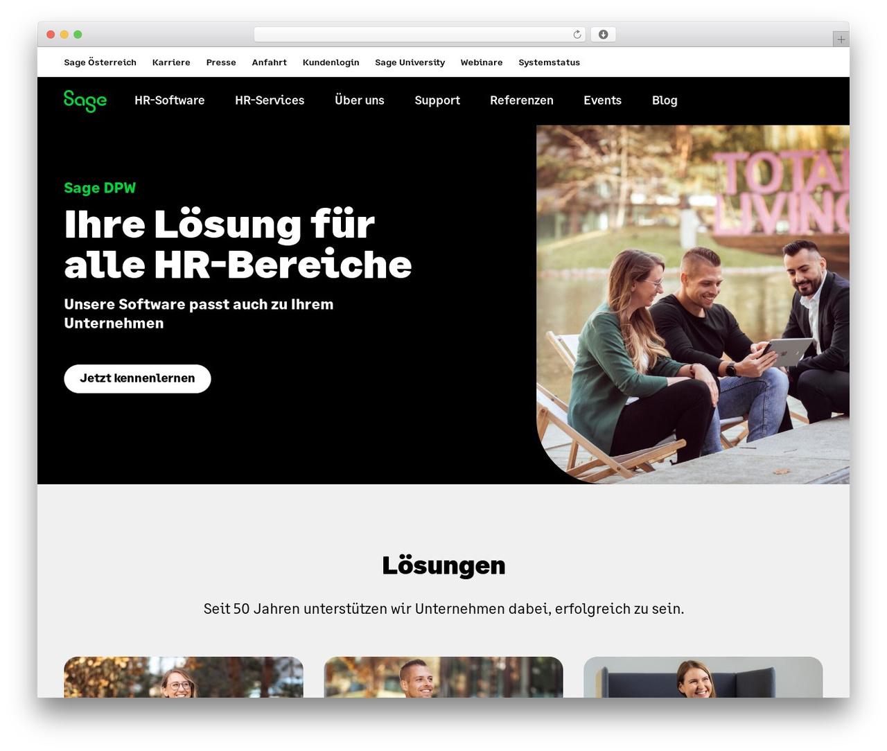 Sage DPW top WordPress theme - sagedpw.at