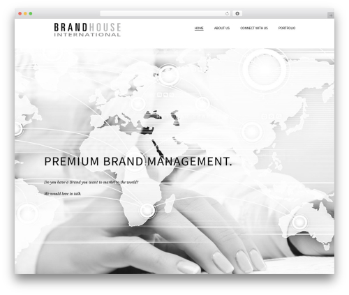 Template WordPress Beau - brandhouseinternational.com