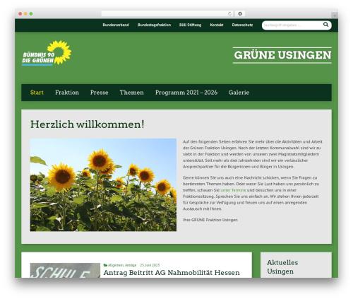 Template WordPress Urwahl3000 - gruene-usingen.de