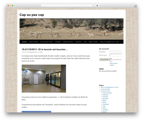 WordPress announcement-and-vertical-scroll-news plugin - capoupascap.web4me.fr