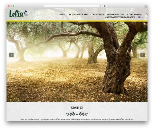 Best WordPress theme Marine Wordpress Theme 01052015 - lelia.gr