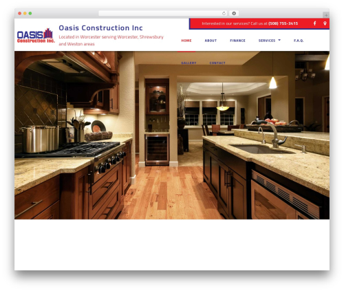 General Contractor 6 WP theme - oasisconstructioninc.org