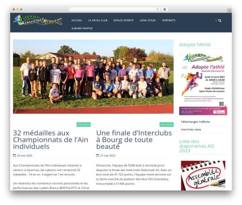 HarmonUX Core WordPress template free - levabathle.fr