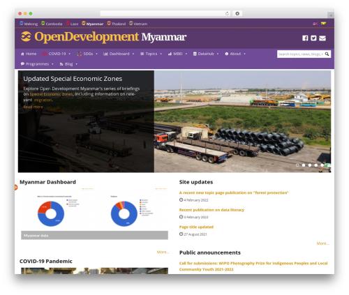 WordPress megamenu-pro plugin - opendevelopmentmyanmar.net