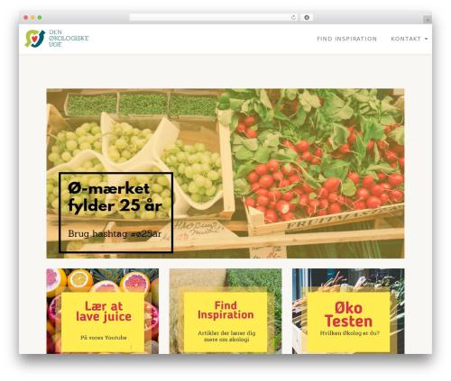 Llorix One Lite WordPress template free - den-oekologiske-uge.dk