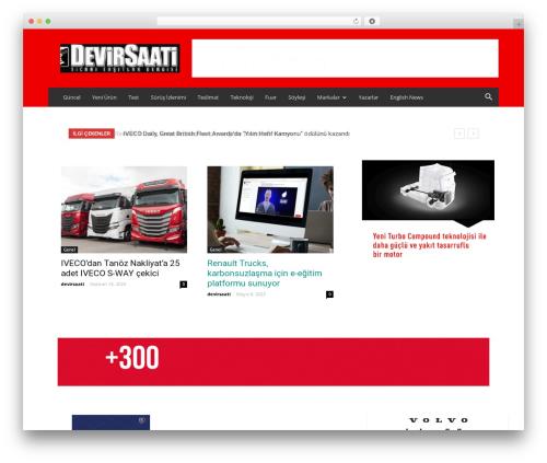 Newspaper WordPress theme - devirsaati.com