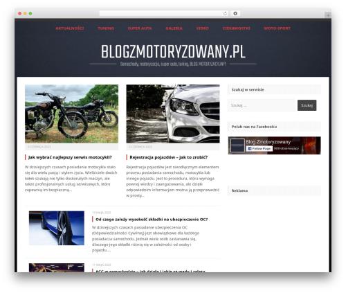 Perkins WordPress blog theme - blogzmotoryzowany.pl