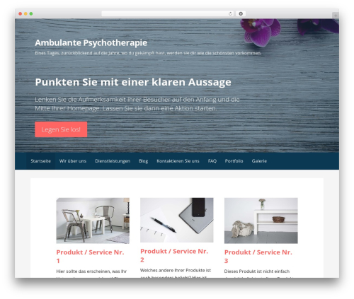 Primer WordPress template free - antoniahope.com