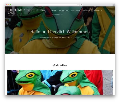 TheFour Lite free WordPress theme - stettemer-froesch.de