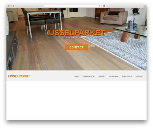 Theme WordPress SKT White - ijsselparket.nl