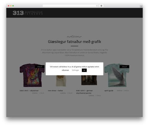 WordPress theme Bazaar - 313.is
