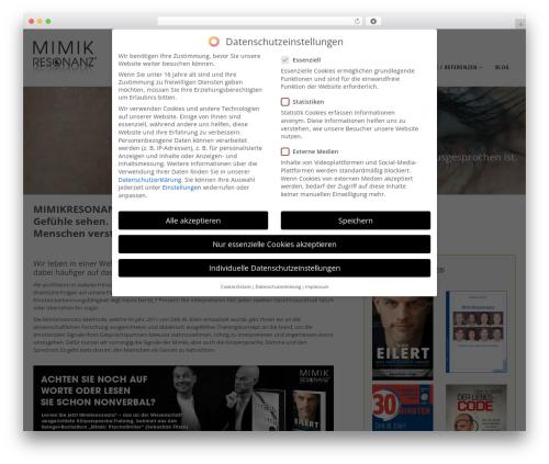 WP template Pointfinder - mimikresonanz.com