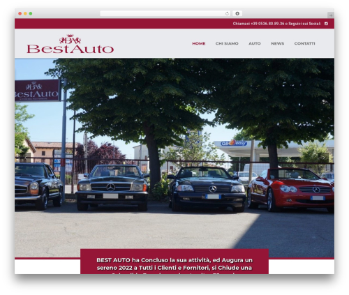 WP theme Car Dealer Ignition - bestauto.it