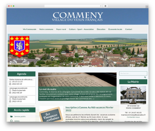 WordPress megamenu-pro plugin - commeny95.fr