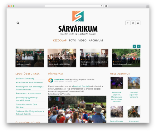 WordPress cff-masonry plugin - sarvarikum.hu
